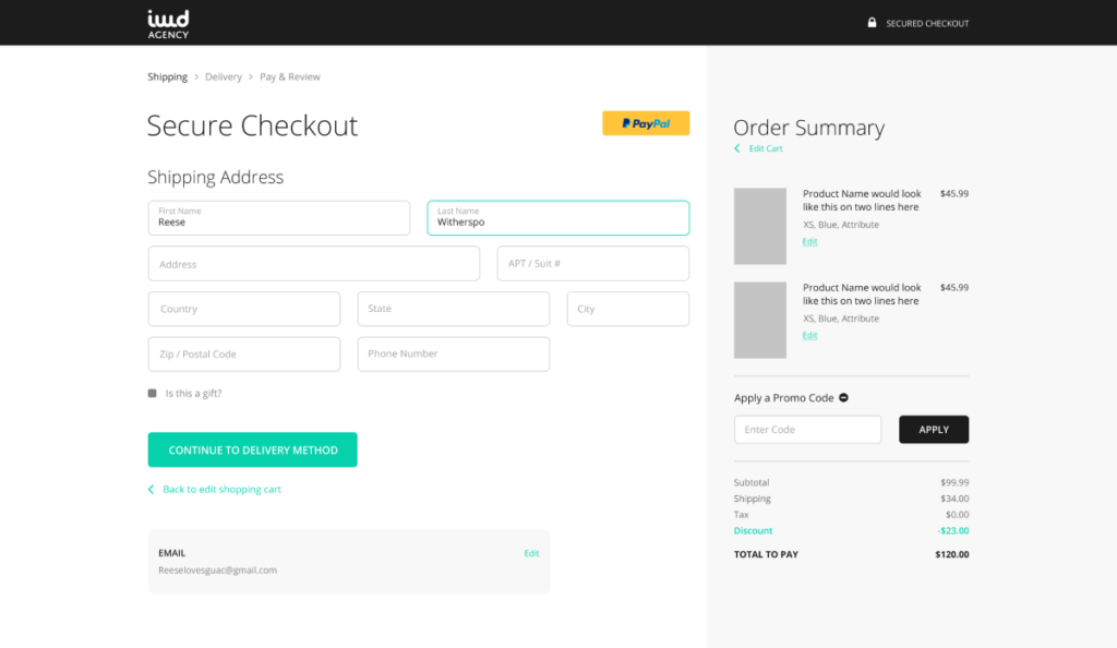 Magento 2 One Page Checkout Extension