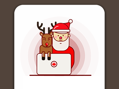 e-commerce santa