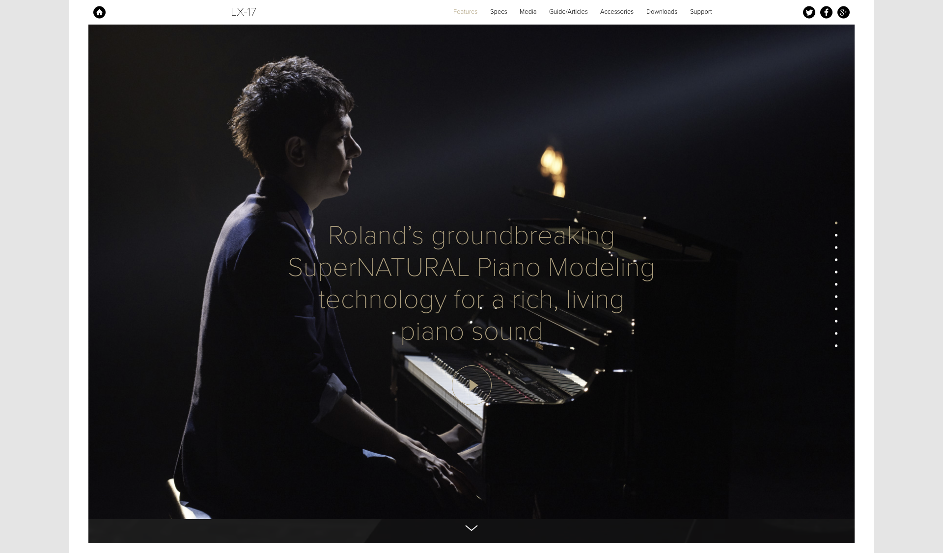 man in front of piano emotional design