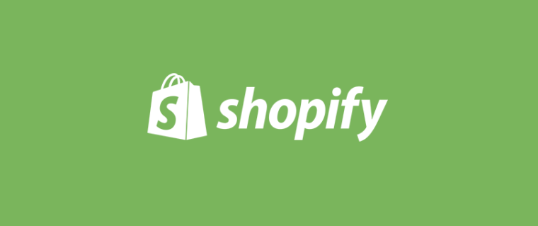 logo of shopify webshop engine