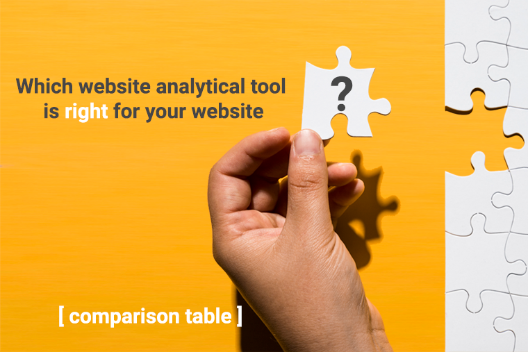 Comparison-table-of-website-analytics-tools