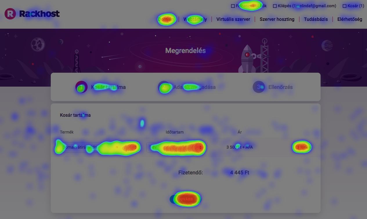 rackhost website heatmap