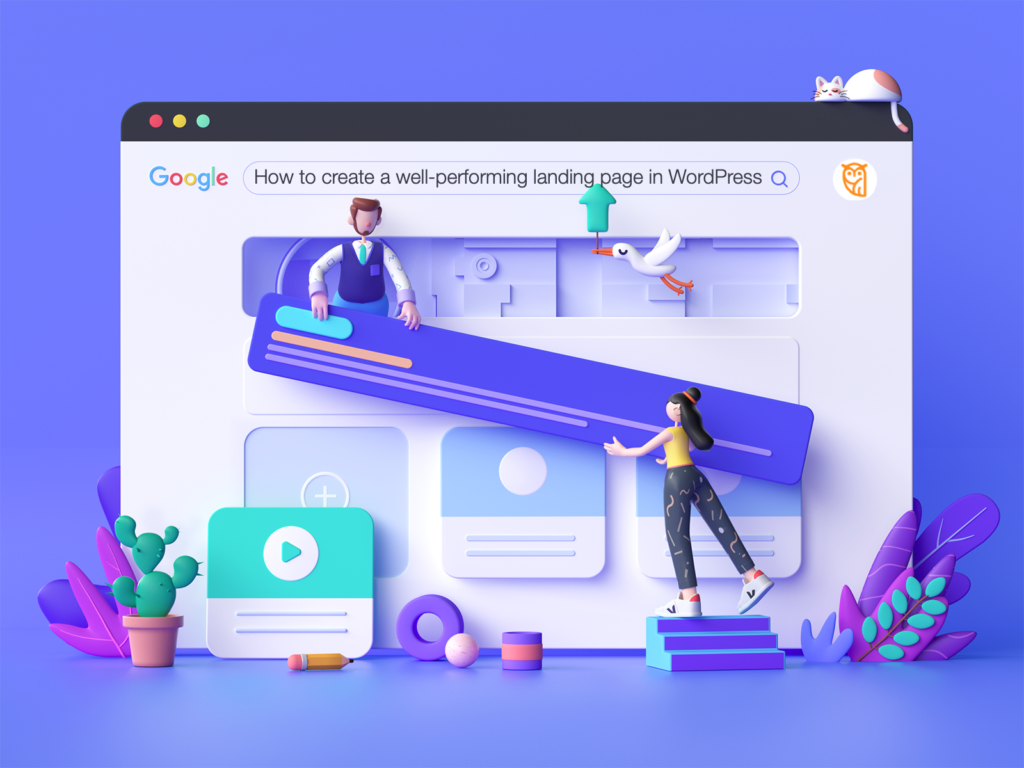 how to create a well performing landing page