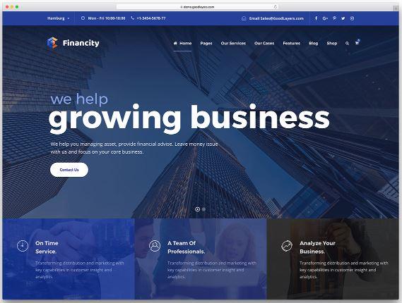 user-friendly WordPress theme