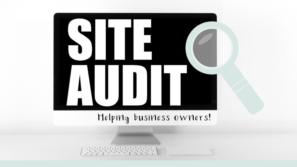 site audit for a better user experience
