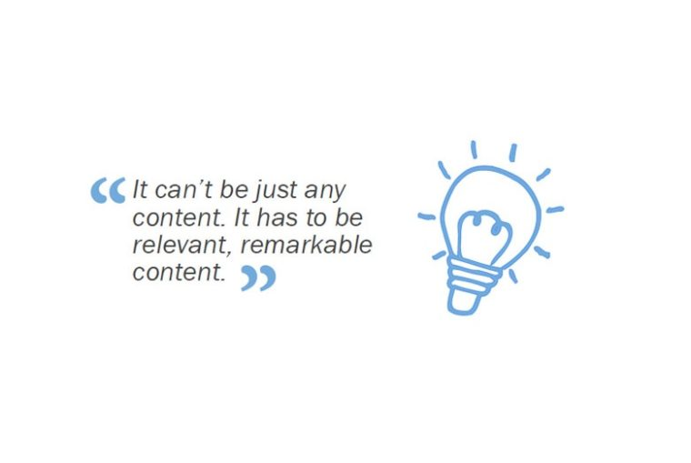 relevant content for better UX