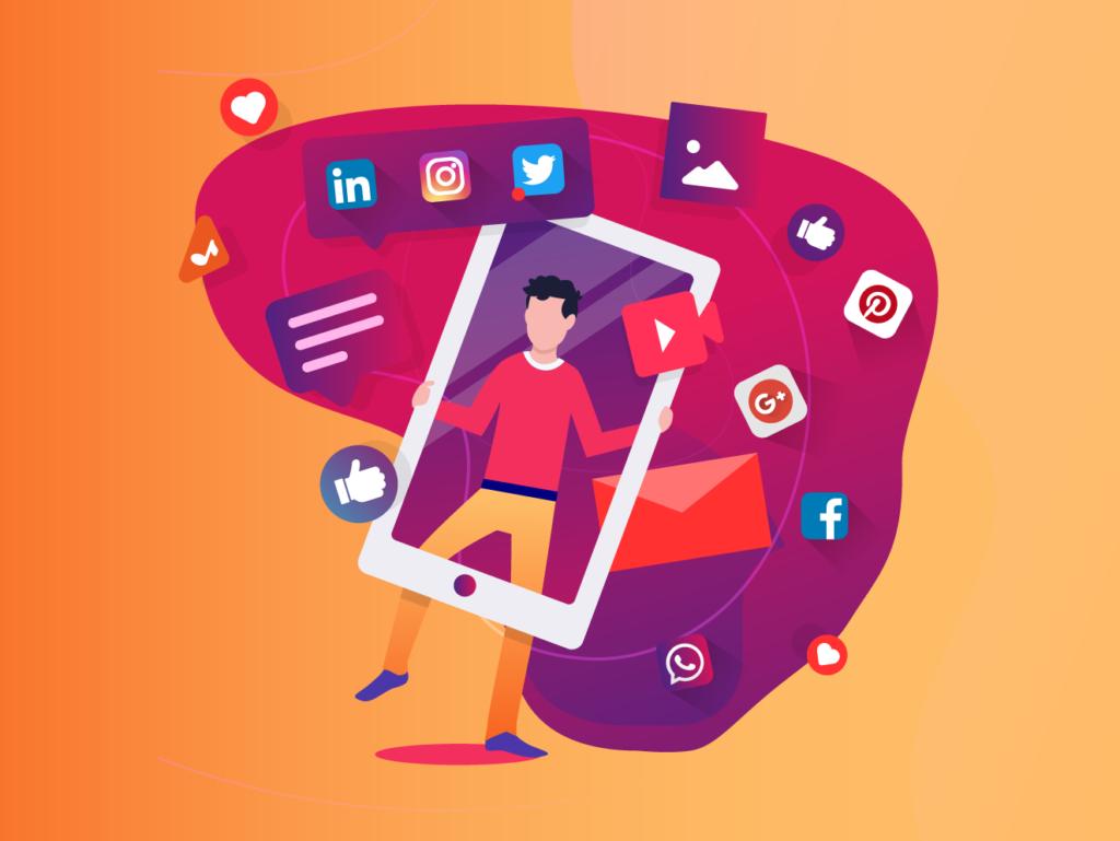 social media presence in e-commerce