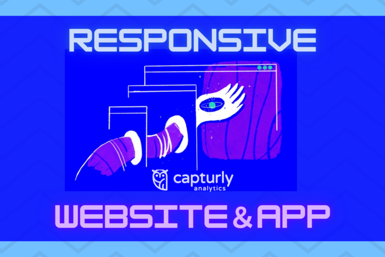 responsive website and app